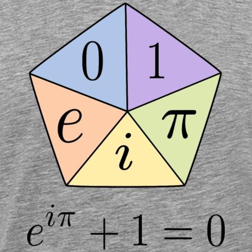 Euler's Identity (a.k.a. God's Equation) - v2.0 - Men's Premium T-Shirt