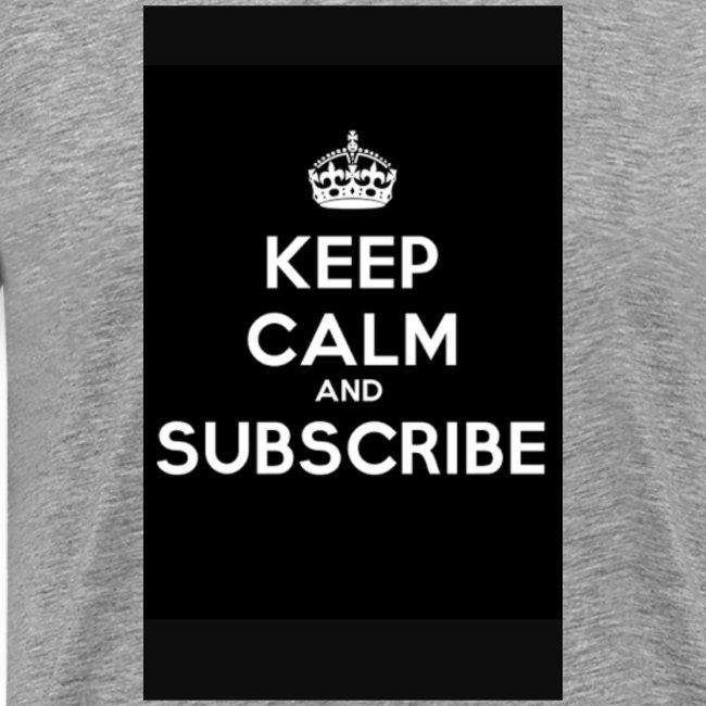 Keep calm merch