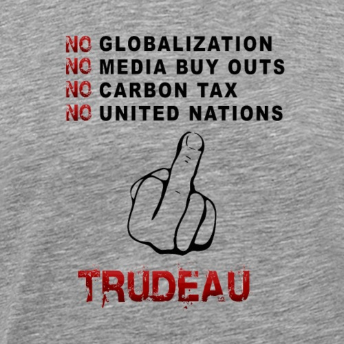 no tax globalisationUN media buy outs - Men's Premium T-Shirt