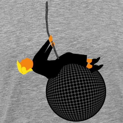 Trump Wrecking Ball - Men's Premium T-Shirt
