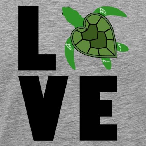 I Love Turtles - Men's Premium T-Shirt