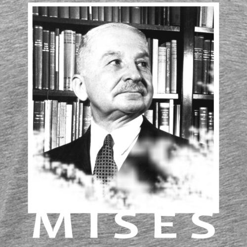Ludwig von Mises Libertarian Design - Men's Premium T-Shirt