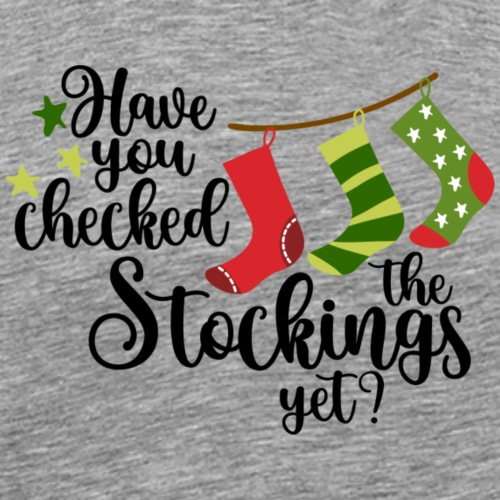 Checked the Stockings?