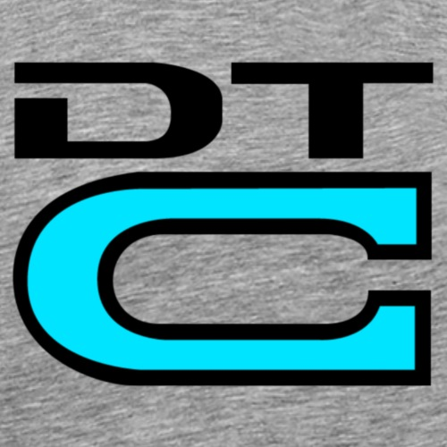DTC - Black - Men's Premium T-Shirt