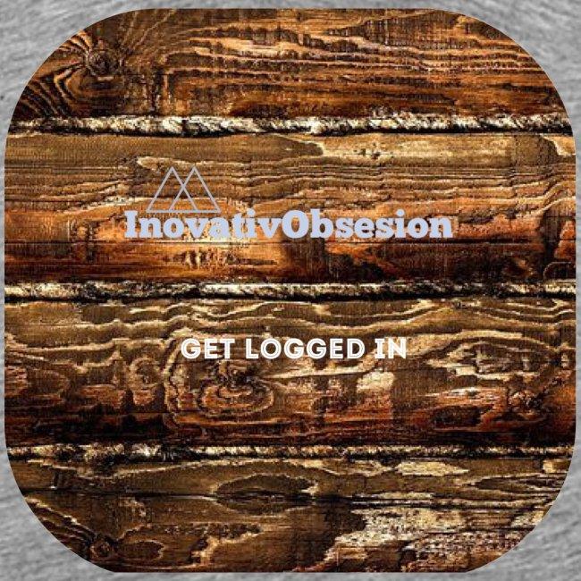 "InovativObsesion ""LOGGED IN"" apparel"