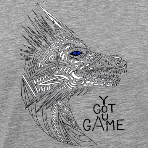Blue eye dragon - Men's Premium T-Shirt