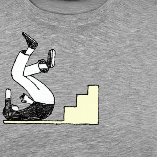 Chute synchronise - Men's Premium T-Shirt