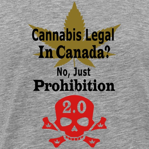 prohibition - Men's Premium T-Shirt