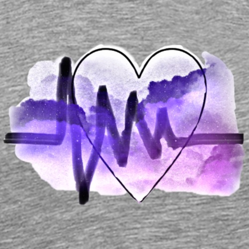 Heart in the heavens 1.0 - Men's Premium T-Shirt