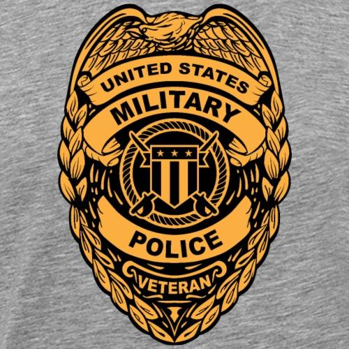 U.S. Military Police Veteran Badge - Men's Premium T-Shirt