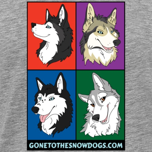 The Husky Girls - Men's Premium T-Shirt