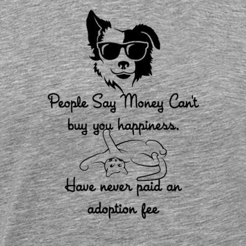 Buy Love Adopt - Men's Premium T-Shirt