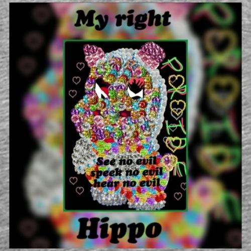 Hippo Pride - Men's Premium T-Shirt