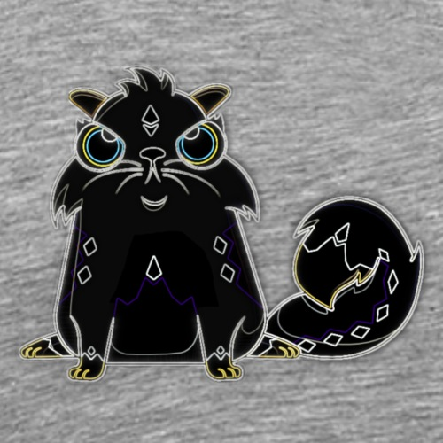 CryptoKitty Shadow - Men's Premium T-Shirt