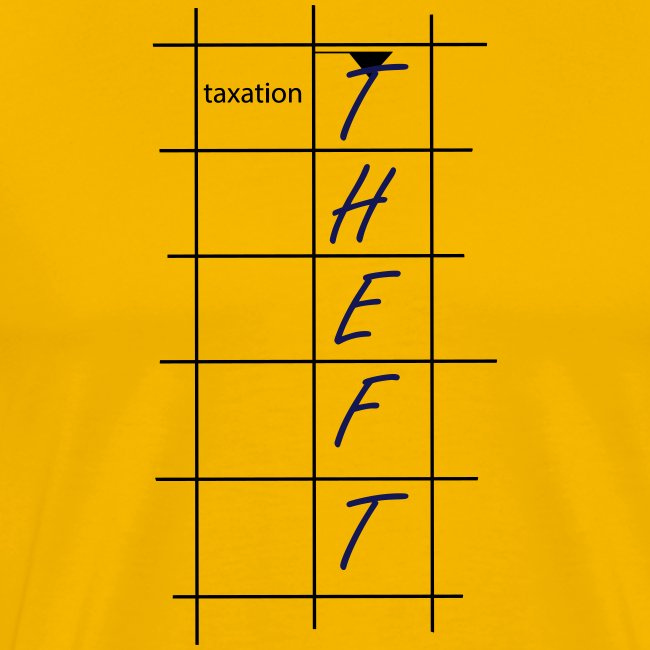 Taxation is Theft Crossword