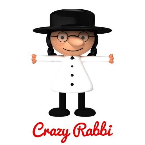 Crazy Rabbi - Men's Premium T-Shirt