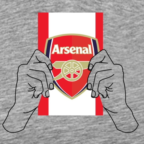 arsenal football team flag - Men's Premium T-Shirt
