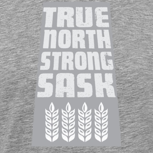 True North Strong Sask - Men's Premium T-Shirt