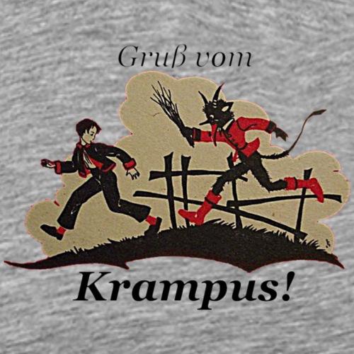 Gruss vom Krampus! - Men's Premium T-Shirt