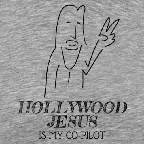 Hollywood Jesus Vertical - Men's Premium T-Shirt