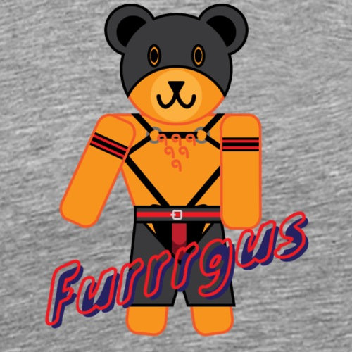 Leather Furrrgus - Men's Premium T-Shirt