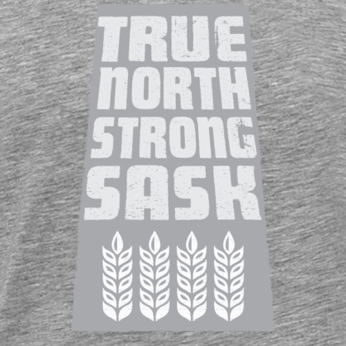 True North Strong Sask - Men's Premium T-Shirt