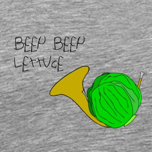 Beep Beep LEttUcE - Men's Premium T-Shirt