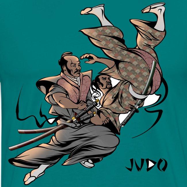 Judo Design Uki Otoshi Throw