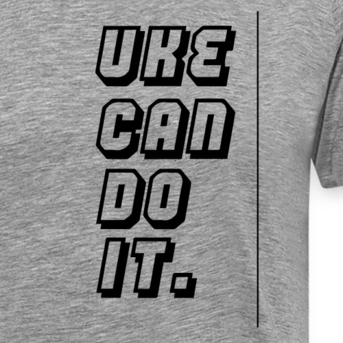 Half Pint Harry Uke Can Dream It - Black - Men's Premium T-Shirt