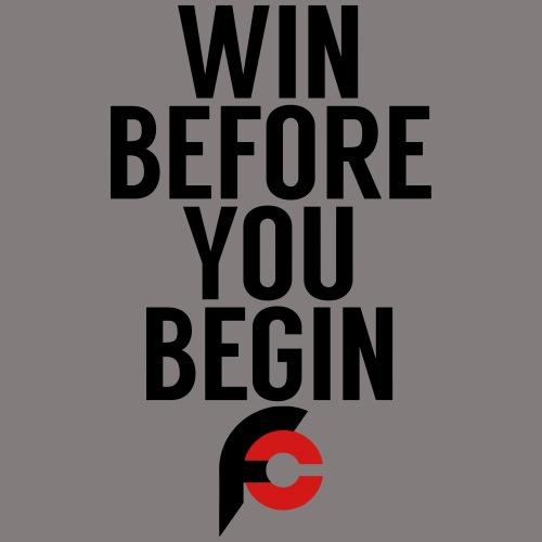 Win Before You Begin - Men's Premium T-Shirt