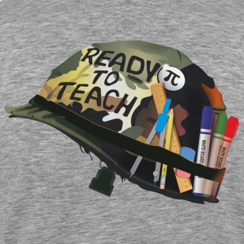 Ready to teach Maths - Men's Premium T-Shirt