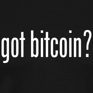 got bitcoin? (black) - Men's Premium T-Shirt