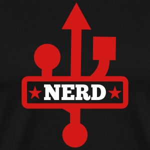 usb port nerd - Men's Premium T-Shirt