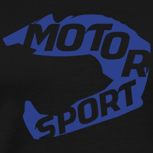 Rev Em Up Motorsport 4's Helmet - Men's Premium T-Shirt
