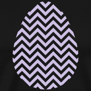 Easter Egg Chevron Purple - Men's Premium T-Shirt