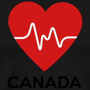 Heart Canada - Men's Premium T-Shirt