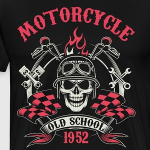 Motocycle Tshirs - Men's Premium T-Shirt