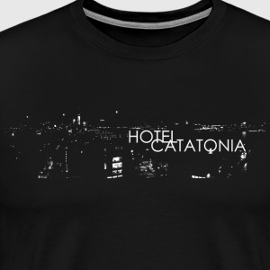 Hotel Catatonia logo image - Men's Premium T-Shirt