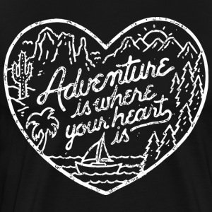 Funny Adventure Shirts - Men's Premium T-Shirt