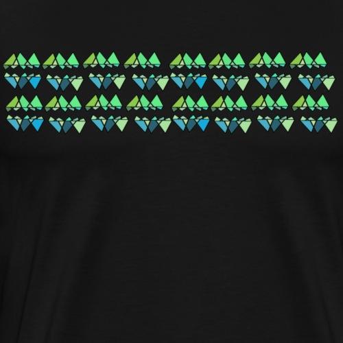 patterns stripes - Men's Premium T-Shirt
