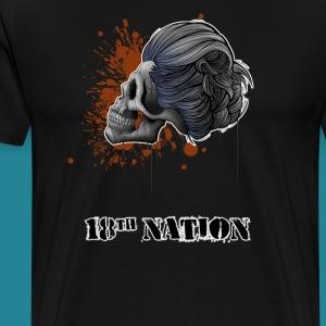 Death and Beauty - Men's Premium T-Shirt