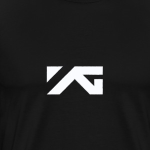 YG Entertainment White Logo Design - Men's Premium T-Shirt