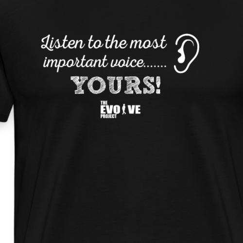 listen shirt - Men's Premium T-Shirt