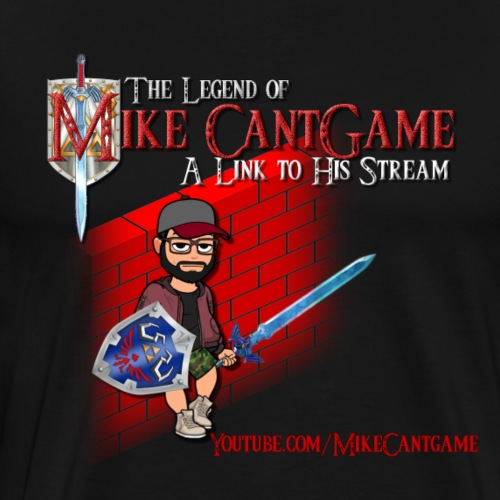 Mike Cantgame - Master Sword - Men's Premium T-Shirt