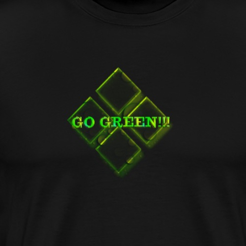 Go Green Design 07 - Men's Premium T-Shirt