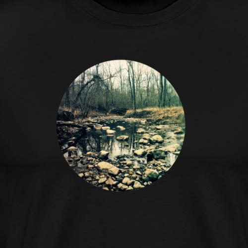 Dark Forest Circle - Men's Premium T-Shirt