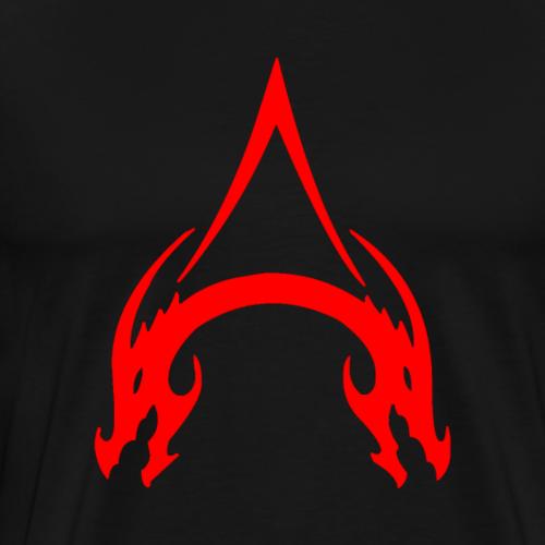 A In Adored Ruby - Men's Premium T-Shirt