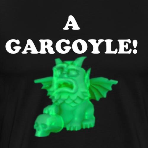 A Gargoyle! Black Soul Edition - Men's Premium T-Shirt