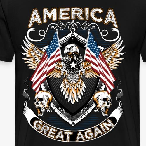 America great again - Men's Premium T-Shirt
