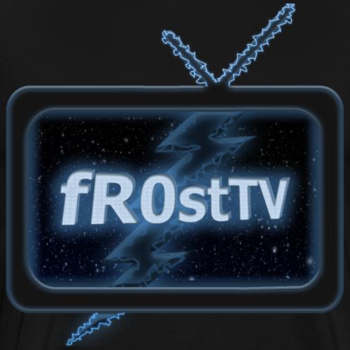 fR0stTV logo - Men's Premium T-Shirt